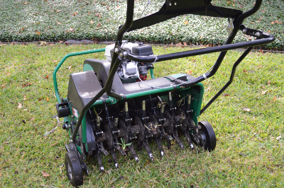 Newmans's Ground Care - Lawn aeration